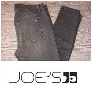 Joe's Jeans   Shelby Grey Skinny Zip Ankle (Sz 31)